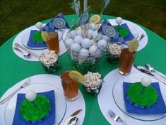 Golf Father's Day Party Ideas   Photo 1 of 9   Catch My Party
