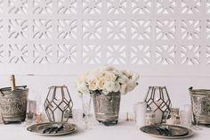 Bohemian Wedding Table / Monochrome Moroccan / Full shoot on The LANE… (instagram: the_lane)