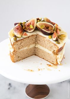 marmaladetart: Honey Earl Grey Fig Cake