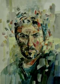 Self portrait by tasos bousdoukos