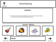 Practice question for the Cognitive Abilities Test or CogAT ...