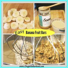 banana fruit bars