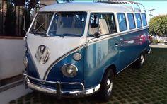 1966 13 window VW Bus