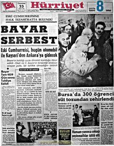 Hürriyet gazetesi 23 mart 1963