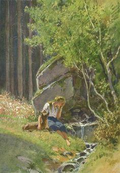 Paul Hey | Brüderlein und Schwesterlein (Brother and Sister) | Brothers Grimm Brüderchen&Schwesterchen