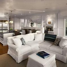 real life with a white slipcover keeping it pretty living room rh pinterest com Sure Fit Sectional Sofa Com www white slipcover sectional sofa