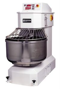 175lb capacity spiral dough mixer, a must have for any restaurateur with a lot of dough, breads or creams made on the premises.