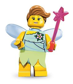 LEGO 8833-9: Fairy | Brickset: LEGO set guide and database