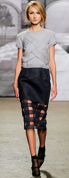 Nonoo at New York Fashion Week Fall 2014