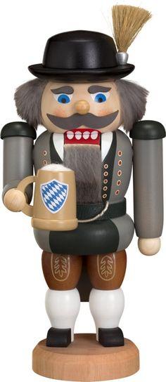 Seiffener Volkskunst Nutcracker - Bavarian (20cm/8in) by Seiffener Volkskunst