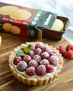 This Gluten Free Raspberry Tart Recipe will complete any holiday meal! A buttery…