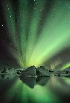 aurora borealis/australis; arctic/antarctic lights; northern/southern lights.