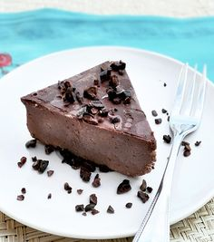 Healthy chocolate fudge cake. My #1 absolute favorite recipe of ALL time!