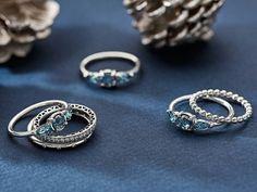 Ice Drop rings from Pandora!