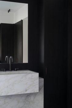 Modern Marble Bathroom by Vincent Van Duysen