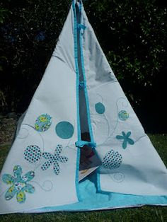 great blog and link to tee pee pattern....For Jordan
