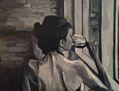 Vinho Tinto - 1,30 X 1,00 - óleo sobre tela - 7/2014 - By Georgia Lobo