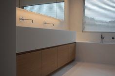 Mortex vloeren - Texture Painting - Alle Mortex toepassingen en schilderwerken van een hoogwaardige kwaliteit Kitchen Interior, Interior And Exterior, Bath And Beyond, Bathroom Kids, Dream Bathrooms, Bed & Bath, Bathroom Inspiration, Sweet Home, Bathtub