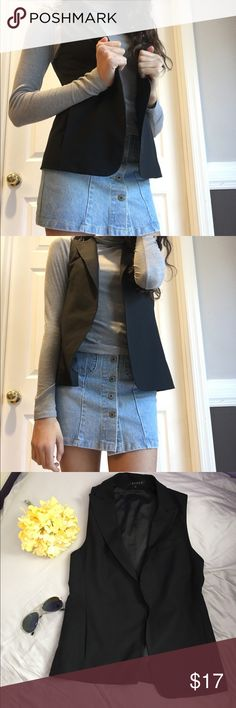 NWOT Theory light black vest NWOT Theory light black vest. This will transform your outfit! This is so sleek and smooth! Outfit pairings: white t-shirt and jeans! Can for variety if sizes! Theory Jackets & Coats Vests