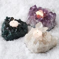 Crystal Votive Holders~ My amethyst $69.00