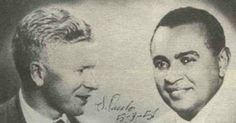 1951 - Luiz Gonzaga e o grande amigo Sivuca (sanfoneiro paraibano e um dos maiores artistas do nordeste)