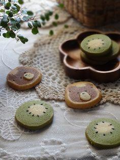 キウイ♡な、抹茶アイスボックスクッキー by えん93 [クックパッド] 簡単おいしいみんなのレシピが233万品