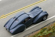 Bugatti Type 57SC Atlantic 57473 at the 2010 Pebble Beach Tour d'Elegance
