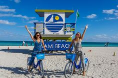 Biking South Beach Miami's Best and Affordable Private Boat Charters and Cruises http://www.captnicksmiamicharters.com/