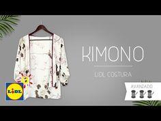 DIY Cómo hacer el Kimono más fácil del mundo | How to make the world easier kimono - YouTube