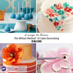 Get 24/7 access to easy-to-learn Wilton Method of Cake Decorating video tutorials on-demand