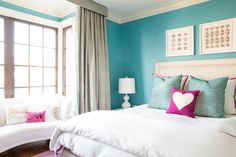 Before and After: Bright + Colorful Teen Bedroom Makeover » Curbly | DIY Design & Decor