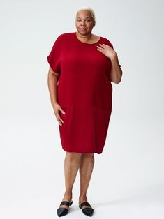 Dance The Night Away In These 10 Plus Size Wedding Guest Dresses // The Good Trade // Fast Fashion, Slow Fashion, Ethical Fashion, Fashion Brands, Plus Size Wedding Guest Dresses, Plus Size Dresses, Cocoon Dress, Best Trade, Made Clothing