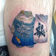 Kunst Tattoos, Irezumi Tattoos, Print Tattoos, Tree Frog Tattoos, Landscape Tattoo, Modern Tattoos, Traditional Japanese Tattoos, Graffiti, Japanese Tattoo Art