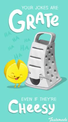 Grate but cheesy