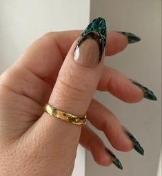 Nail Design Stiletto, Nail Design Glitter, Aycrlic Nails, Swag Nails, Hair And Nails, Nagellack Design, Nail Ring, Funky Nails, Fire Nails