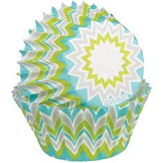Wilton Baking Cups, Mini, Lime Chevron, 100-Pack * Remarkable product available  : baking gadgets