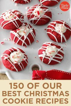 150 of Our Best Christmas Cookie Recipes Gingerbread, peppermint and meringue, oh my! Make your holiday a little sweeter with 150 of our favorite Christmas cookie recipes. Best Christmas Cookie Recipe, Christmas Food Gifts, Christmas Sweets, Homemade Christmas Gifts, Christmas Cooking, Noel Christmas, Christmas Goodies, Christmas Candy, Holiday Treats