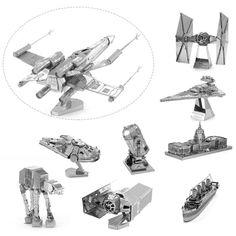 2016 vendita calda del metallo 3d puzzle modello di puzzle fighter diy assemblare capretto/regalo giocattolo per adulti trasporto di goccia