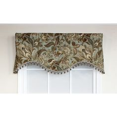 Darby Home Co Gilead Curtain Valance Color: Mist Window Coverings, Window Treatments, Kitchen Valence, Small Outdoor Kitchens, Drapes Curtains, Dining Room, Windows, Color, Home Decor