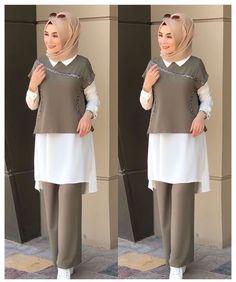 Modest Fashion Hijab, Modern Hijab Fashion, Muslim Women Fashion, Hijab Fashion Inspiration, Islamic Fashion, Fashion Mode, Abaya Fashion, Modern Abaya, Girls Fashion Clothes