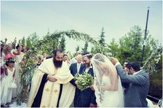 my sweet friend, Maria...:::traditional greek wedding.
