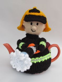TeaCosyFolk Elvis Tea Cosy Knitting Pattern As seen on Gogglebox