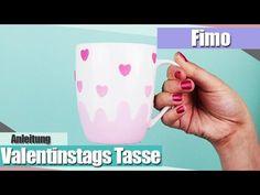 IFimo FridayI Tasse mit Fimo dekorieren I Valentinstags Spezial I Aniela...