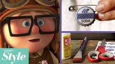 Create this fun DIY grape pin accessory inspired by Disney Pixar's Up! Get a print out of the grape soda template here: http://di.sn/6004xMcE SUBSCRIBE to ge...
