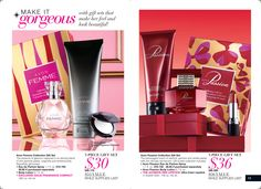 Great #Christmas Gift ideas. Come in their own gift box! www.youravon.com/joylehman #Fragrance