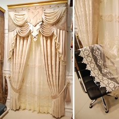 Promotions! Home decoration window curtain blind curtain beige living room curtains bedroom curtains for window