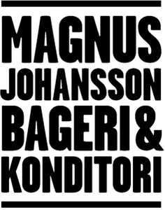 Logotyp: Magnus Johansson Bageri & Konditori AB Stockholm Food, Bakery, Abs, Logo Design, Bread, Spaces, Crunches, Bread Store, Abdominal Muscles