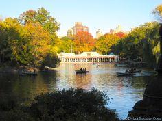 The Boat House in Central Park (NYC). Taken November 2011.
