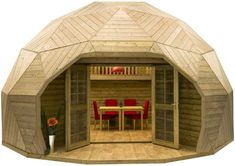 Houten iglo Yurt Home, Dome Structure, Geodesic Dome Homes, Living Place, House In Nature, Dome House, Tiny House Cabin, Round House, Play Houses