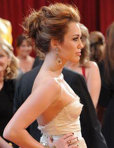 M. Cyrus hair